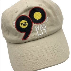 The 90's Was Lit Dad Hat